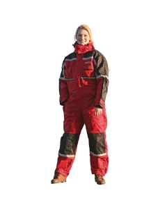 Thermo ademende winter overall (Red)