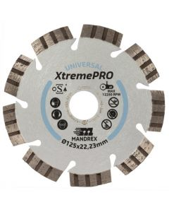 Mandrex Universeel XtremePro Diamantzaagblad MDZU125X 125mm