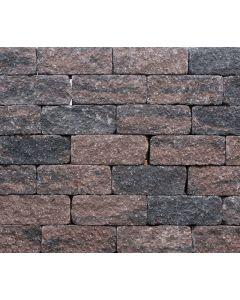 Wallblock Tumbled 12x12x30 cm Brons