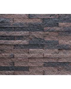 Wallblock Split 15x6x40 cm Brons