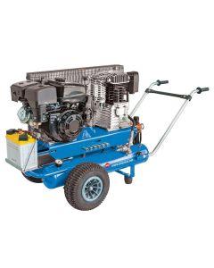 Mobiele Compressor BM 17+17 10 bar 5.5 pk 2 x 17 l 450 l/min