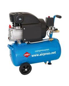 Compressor HL 310-25 8 bar 2 pk 157 l/min 25 l