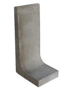 L-element Grijs 100x50x40 cm