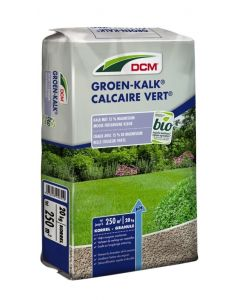 Groen-kalk volle pallet, 60 stuks á 20 kg