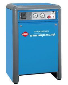 Stille Compressor APZ 320+ 400 V 10 bar 3 pk 317 l/min 24 l