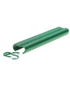Rapid Hekwerkring VR22 Groen gecoat in doos (1600 stuks)